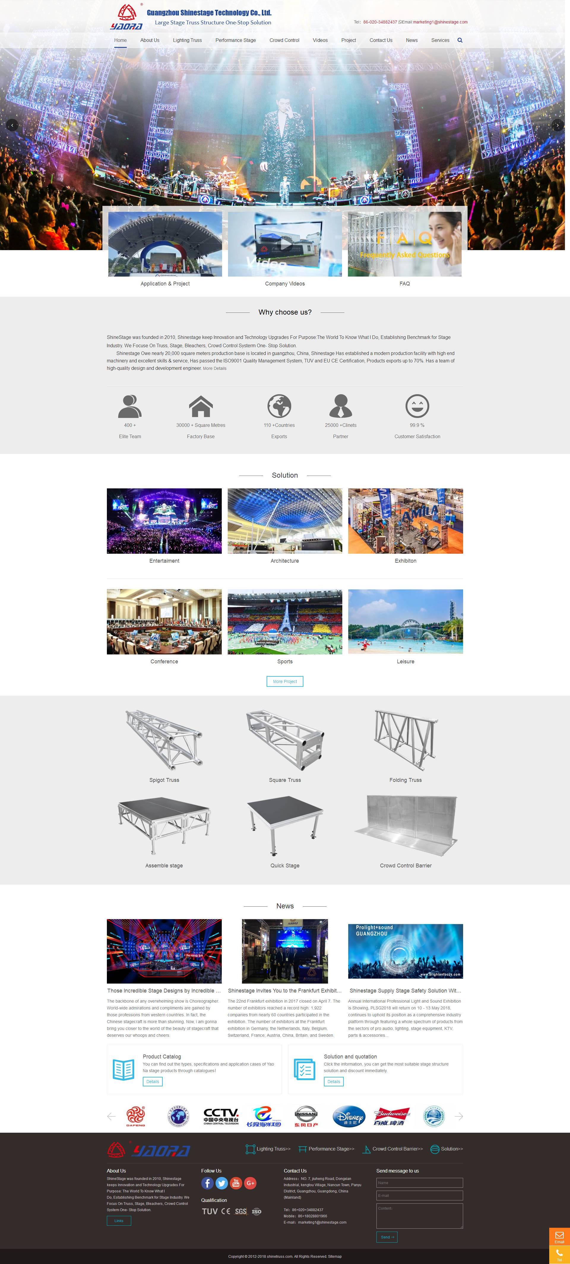 定制型外贸网站
